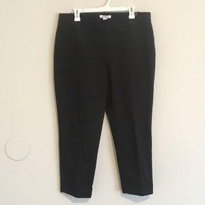 NWT Black crop pants